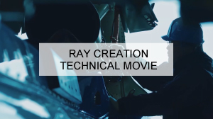 RAY CREATION TECHNICAL MOVIE 工業用動画サイト画像