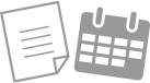 見積書、日程表のご提出のアイコン